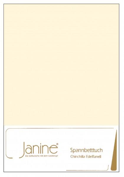 Janine Betttücher CHINCHILLA 7000 natur  Größe: 100x200 cm (Spannbetttuch)