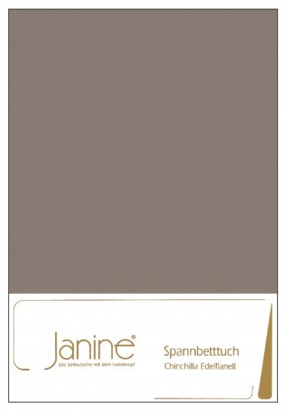 Janine Betttücher CHINCHILLA 7000 taupe  Größe: 100x200 cm (Spannbetttuch)