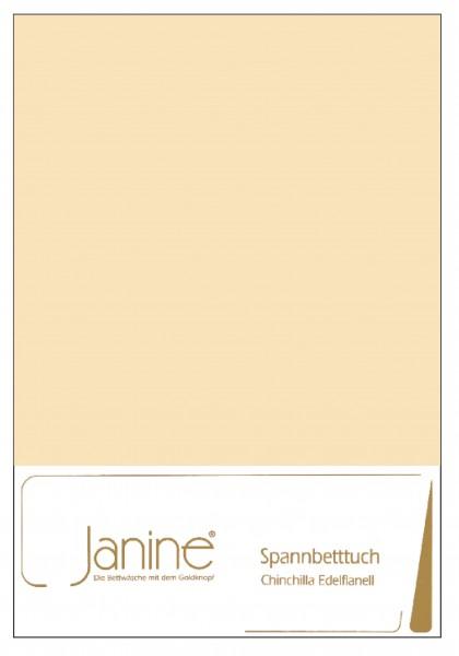 Janine Betttücher CHINCHILLA 7000 leinen  Größe: 100x200 cm (Spannbetttuch)